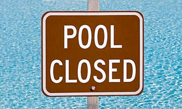 Please don't poop in the pool. @ohbotherblog