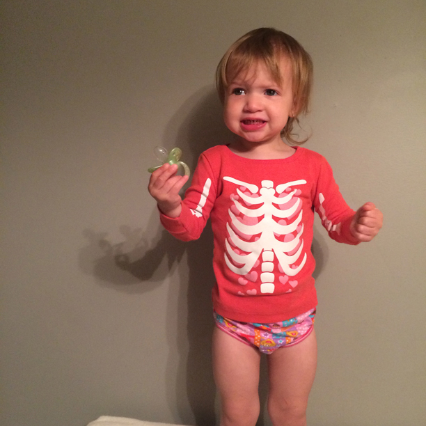 Potty training a 2-year-old @ohbotherblog