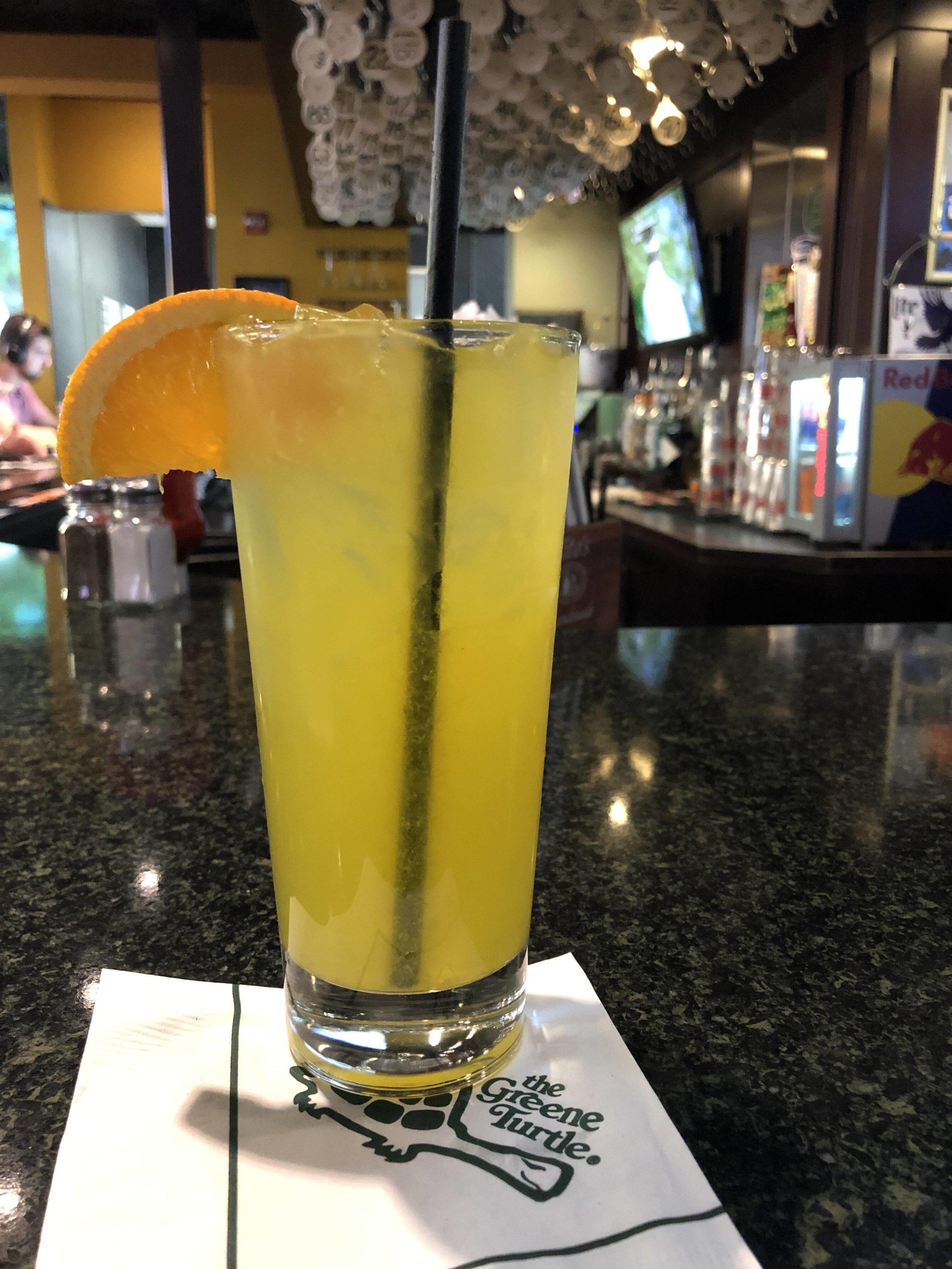 Pre-flight beverage