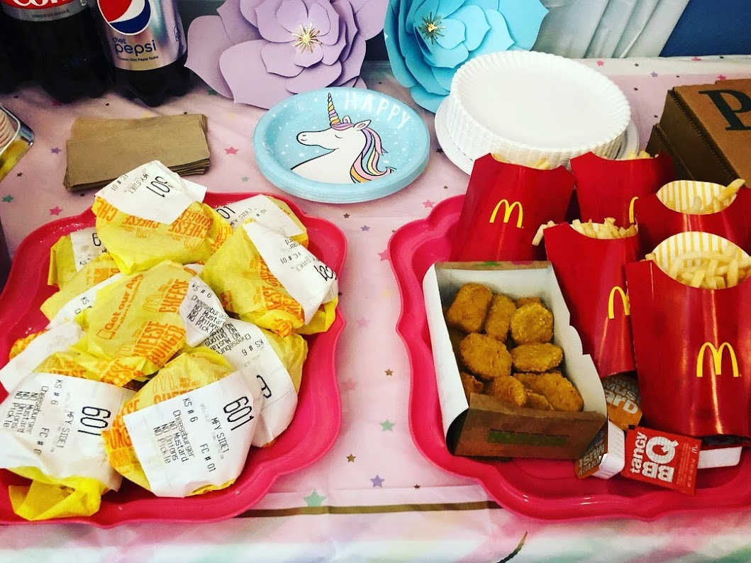 McDonald's for a Birthday Party