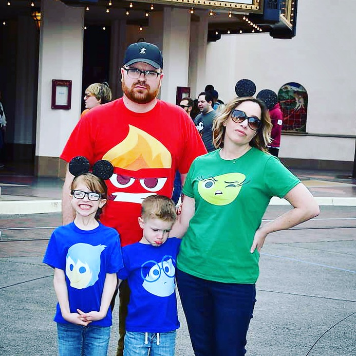 Disney Family Vacation Tees Inside Out