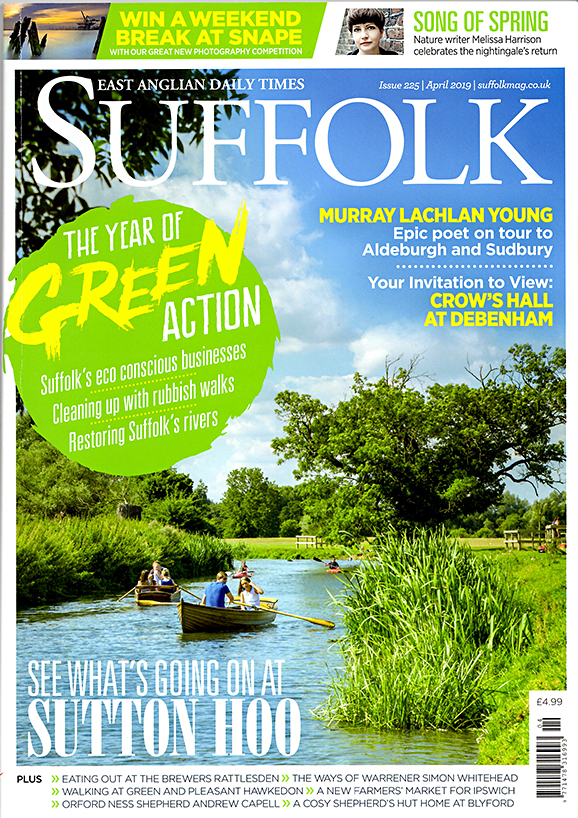 You can read Matt Gaw's wildlife diary in Suffolk Magazine