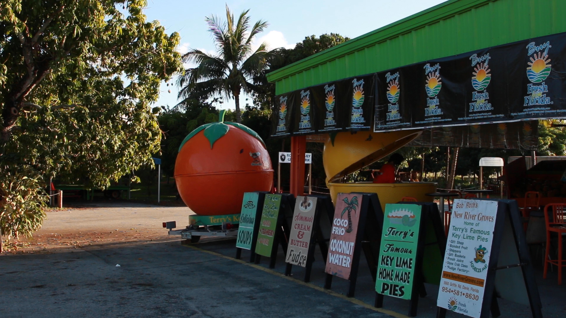 Bob Roth's New River Grove's famous Orange. Photo by: Justin Dalaba
