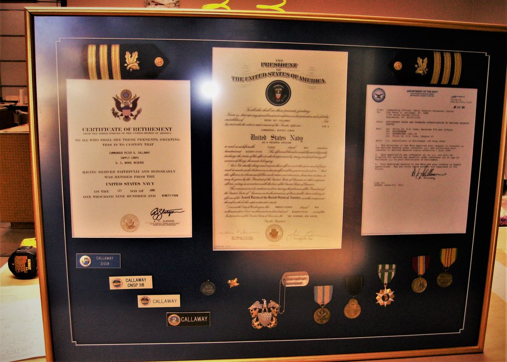 Naval Commendation Collage