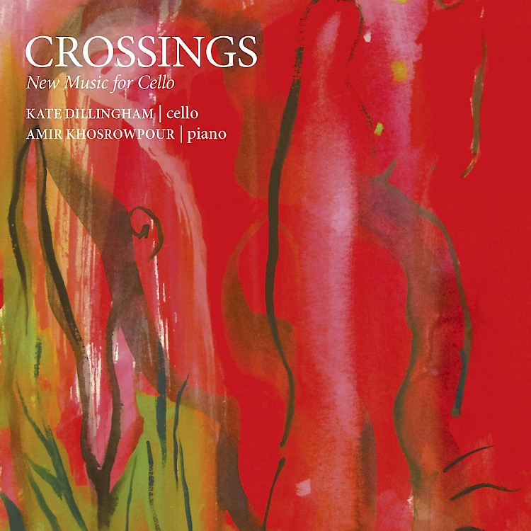 CROSSINGS -New Music for Cello  - New Focus Recordings Released: February 10, 2015 Available: iTunes, Amazon, Spotify