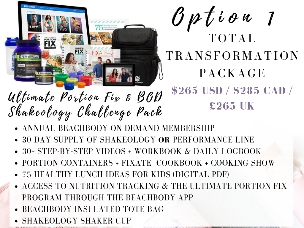 CLICK HERE     TO GET YOUR TOTAL TRANSFORMATION PACK AND GET INSTANT ACCESS!