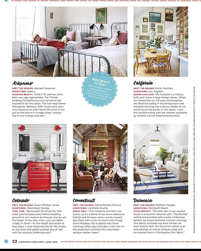 Hey thanks for the mention @countrylivingmag !