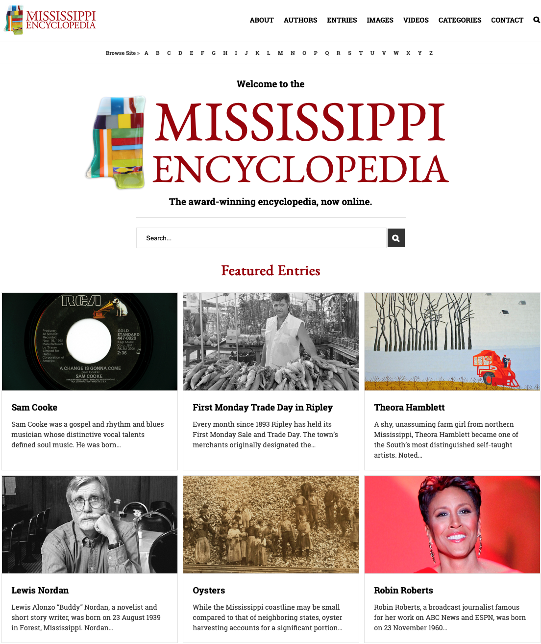 Mississippi Encyclopedia - I wrote the article for Highway 61/Blues Highway