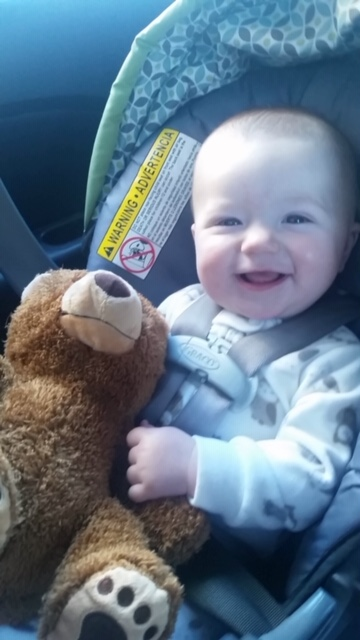 My nephew learned that crying in the doctor's office gets you a teddy bear.