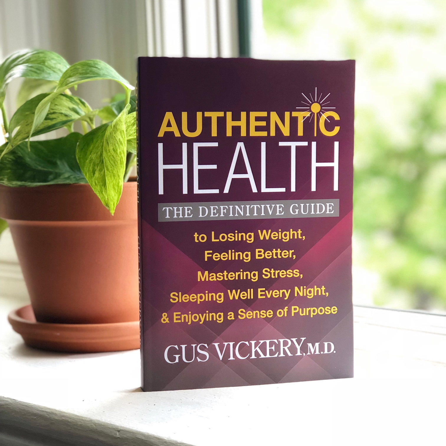AUTHENTIC HEALTH - In this straightforward, easy-to-use roadmap back to good health, Dr. Gus Vickery lays out a comprehensive program for addressing the habits and conditions that drive many of America's painful chronic conditions.