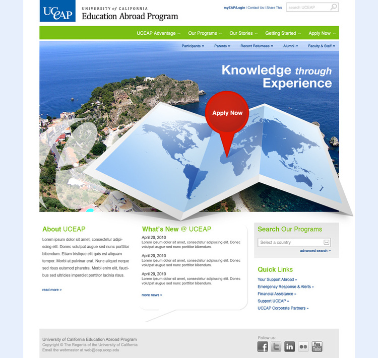 UC - Education Abroad Program (UCEAP)