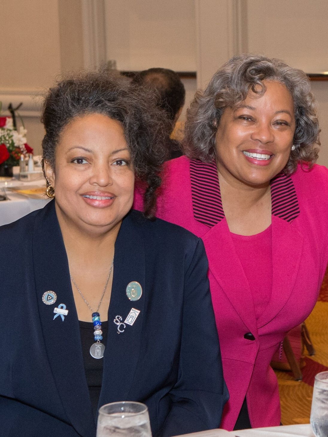 Hall of Fame Awardees: 2012 Recipient Danielle Butler Simmons & 2011 Recipient Dr. Daphne L. Smith