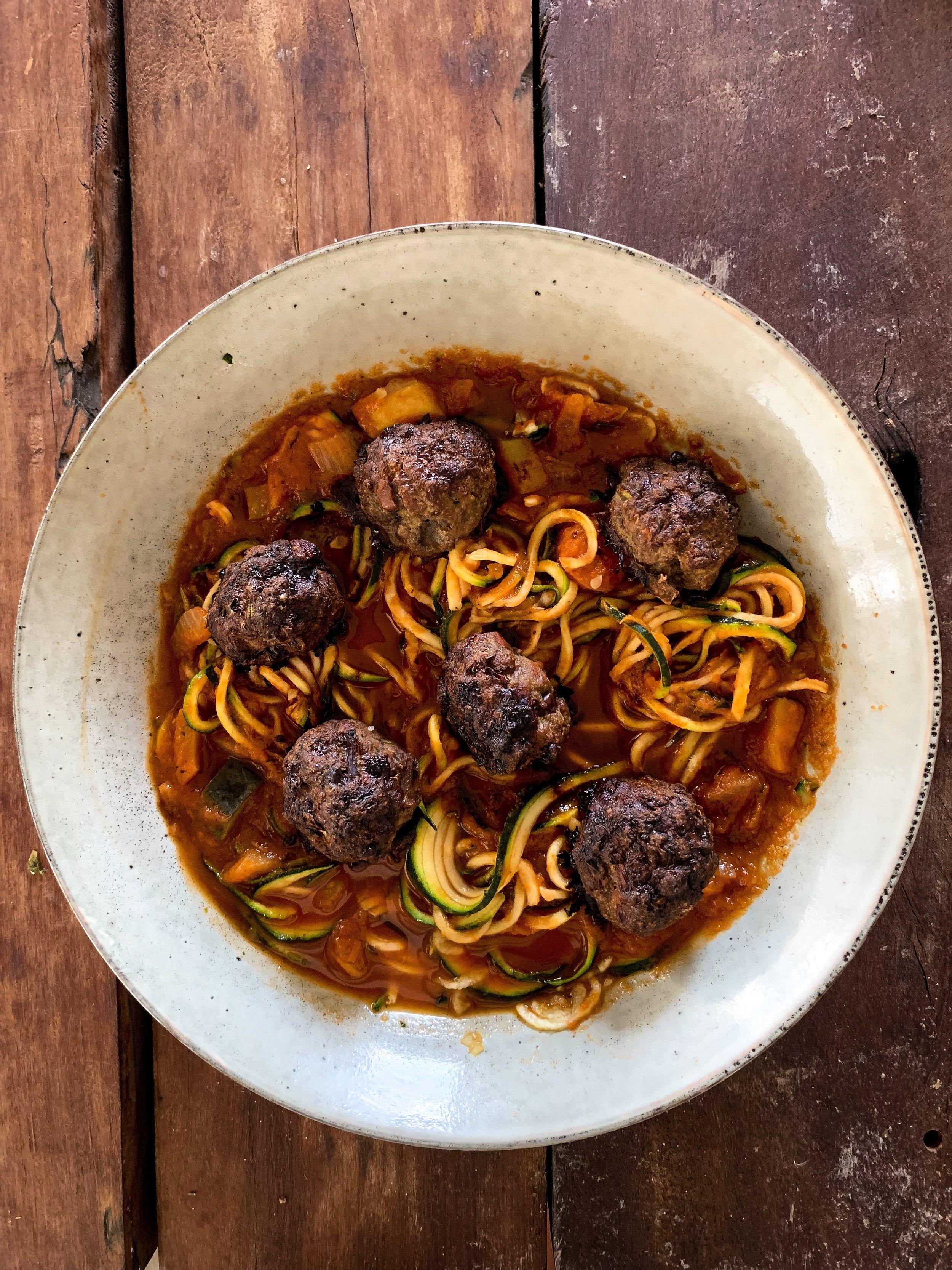 liver meatballs