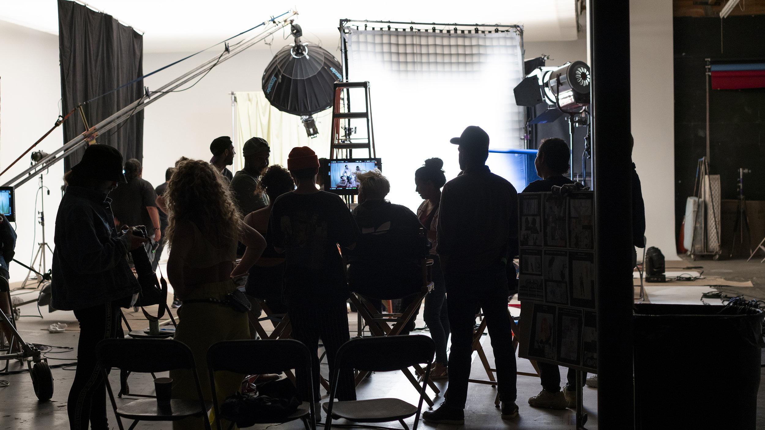"""Making of """"Flash Pose"""""""