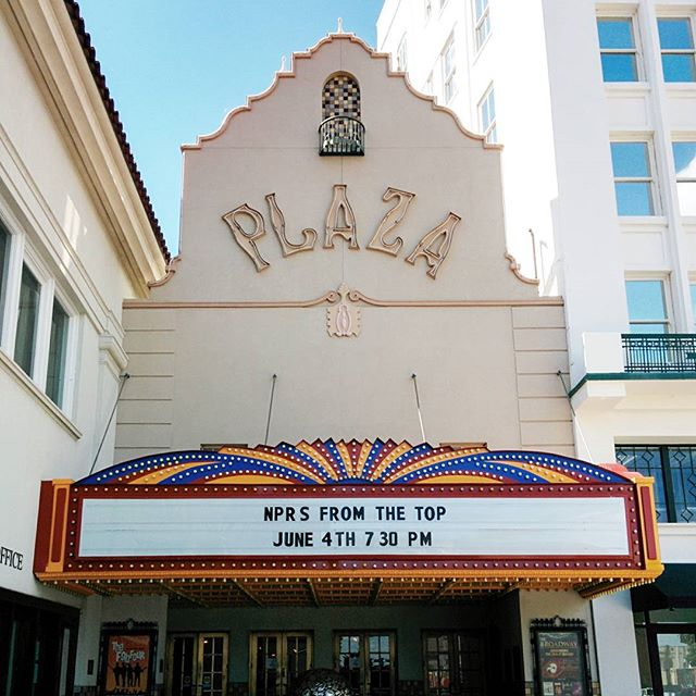Less than 4 hours till @npr From The Top live with Host Christopher O'Riley! Join us at the Plaza Theatre for an unforgettable evening! #classicalmusic #piano #harp #fromthetop #composer #flute #nprlife #vsco #vscocam #violin