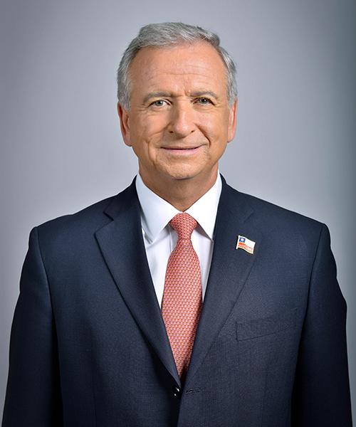 Felipe Larraín, Ministro de Hacienda