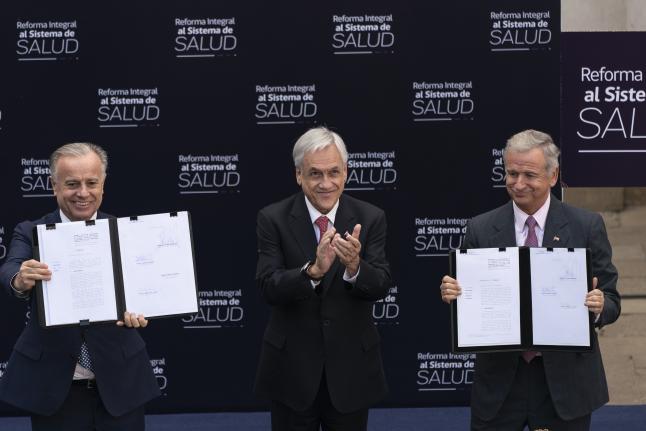 Proyecto incluye reformas para Fonasa y las isapres   - Abril 2019
