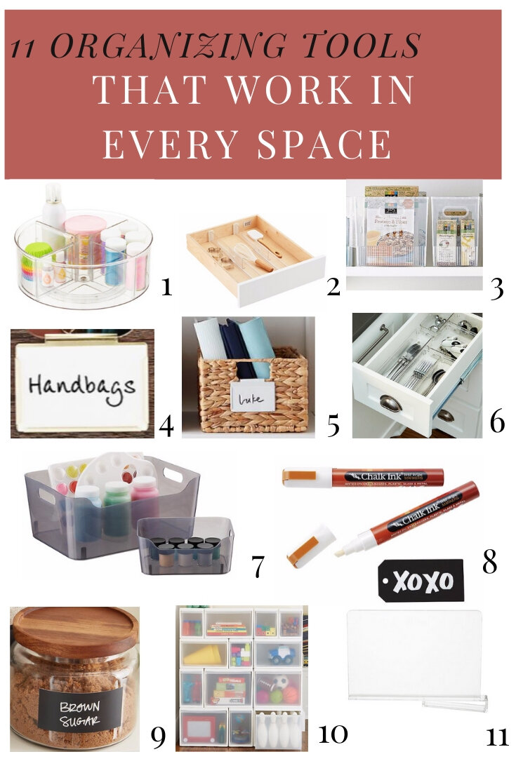 Organizing Tools that Work in Every Space