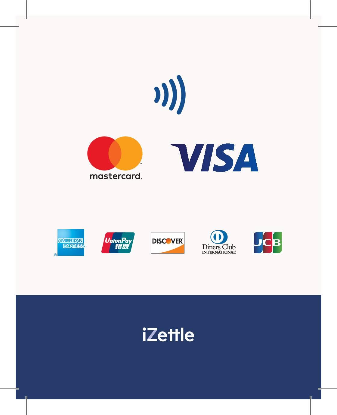 U kunt digitaal betalen met alle gangbare betaalkaarten