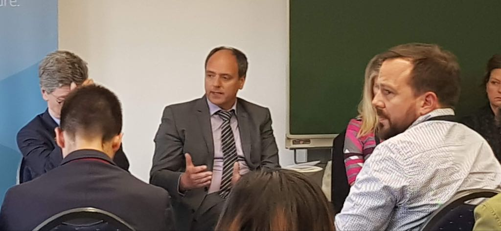 On the Panel with Ba Ki moon
