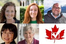 The 2019 candidates for the Cariboo-Prince George riding.