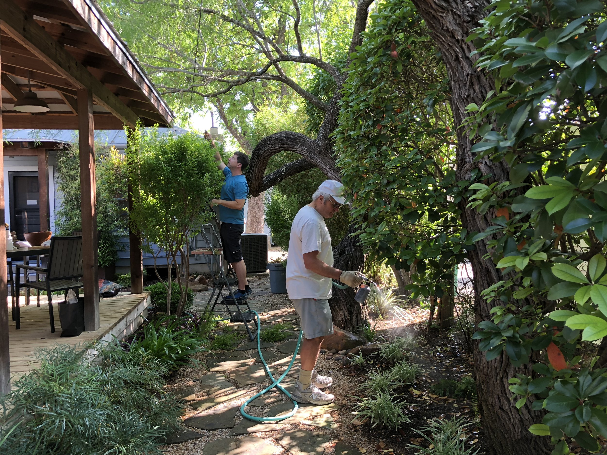 May 12, 2018 Sangha work day