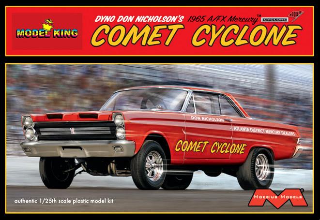 Model King 1965 A/FX Mercury Comet Cyclone
