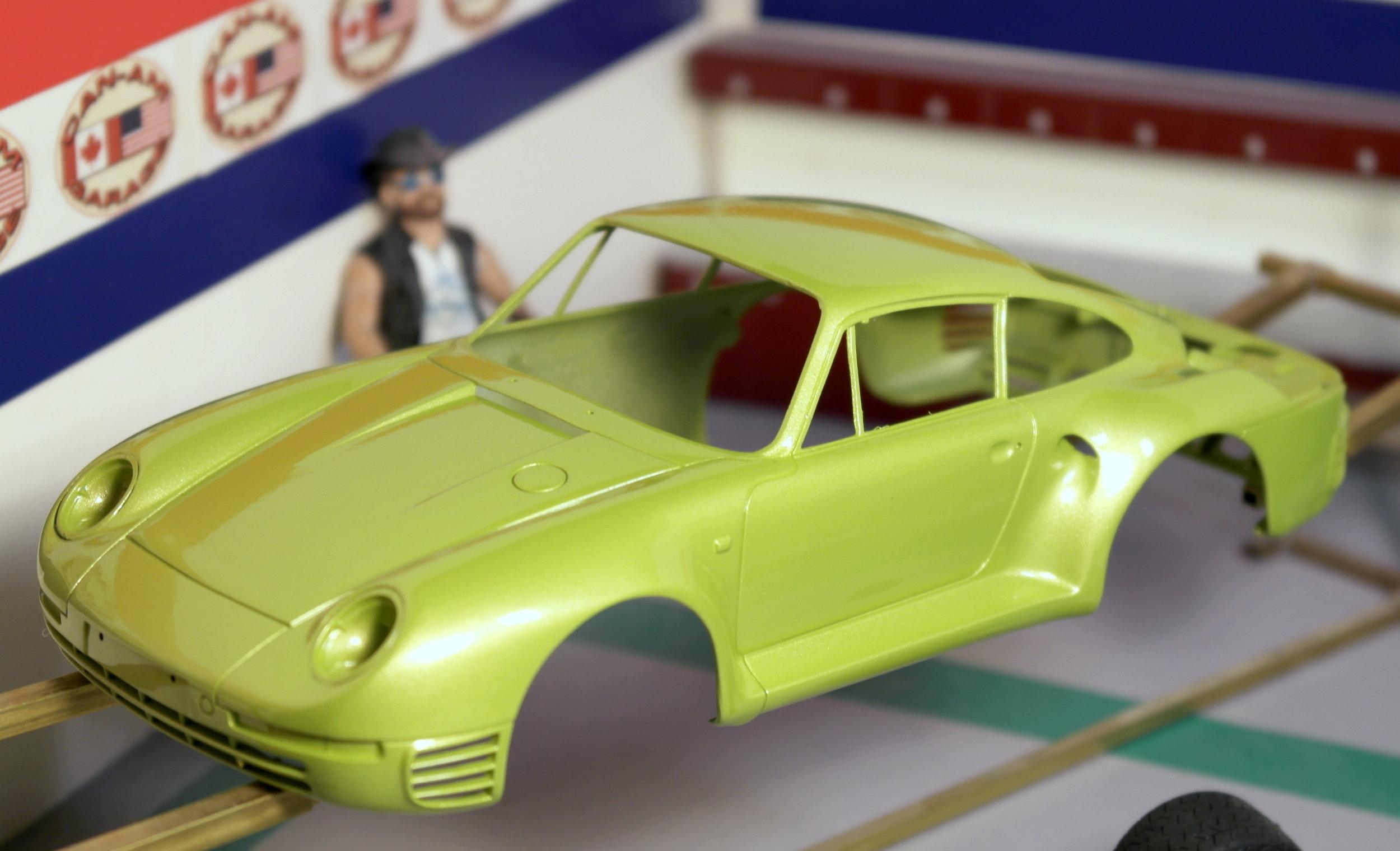 John's Peridot Green Porsche 959