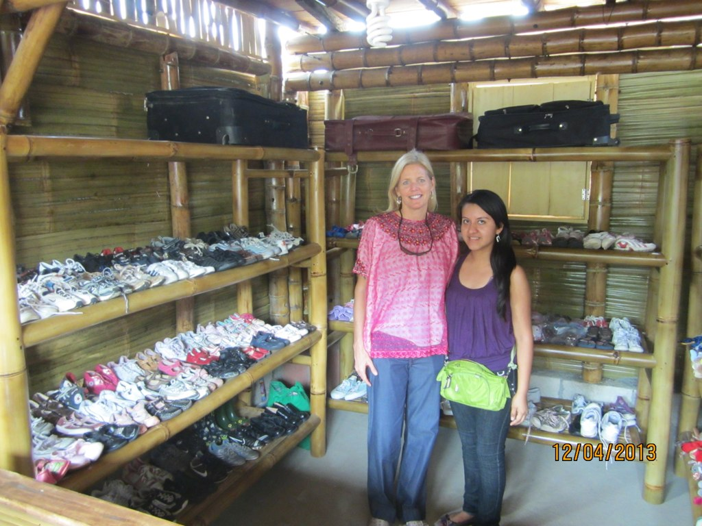 2014 - FLF opens a Community Thrift Store stocked with gently used items donated by American families. Local young woman Lliny Zapon, runs the store and uses proceeds as scholarship money to attend college and become a teacher.