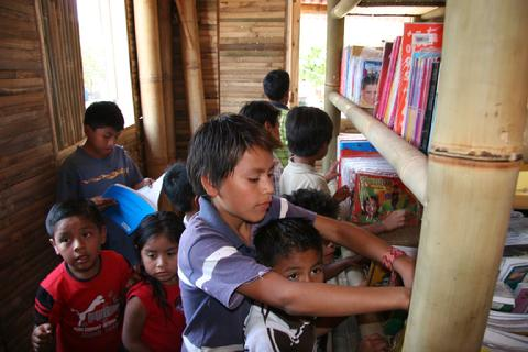 2010 - FLF builds a library in the center of town and staffs with a librarian who provides learning programs to children and oversees daily operations.