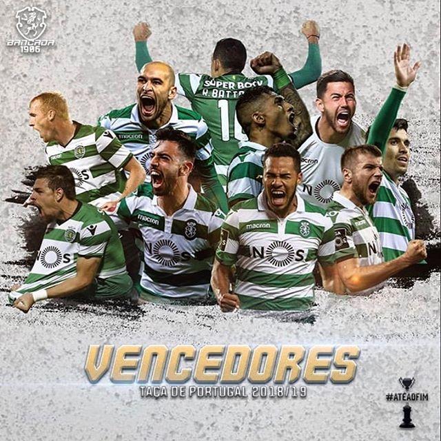 Contra tudo e contra todos!!!! Esta é nossa🏆🏆🏆🏆🏆🏆 @brunofernandes.10  @sportingclubedeportugal
