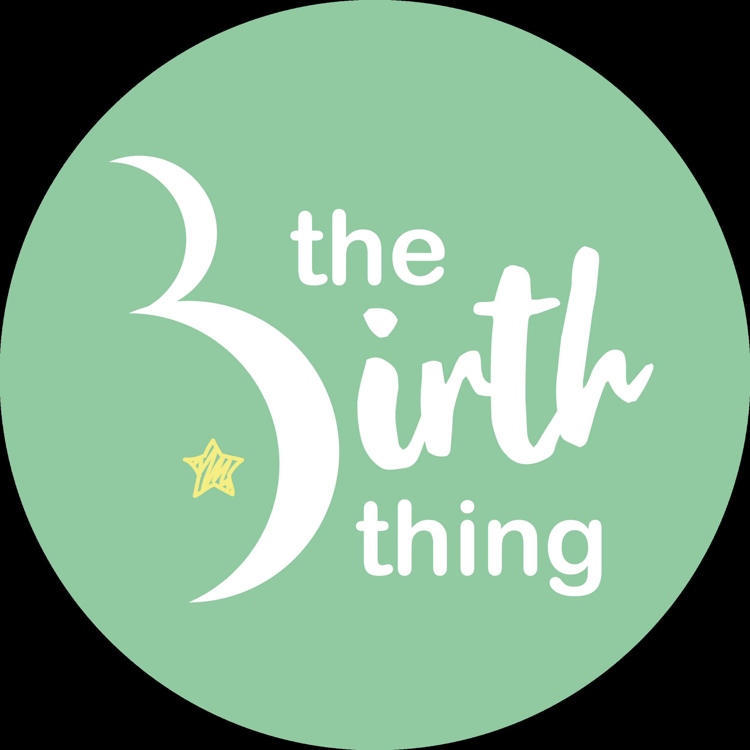 The Birth Thing GREEN CIRCLE.png