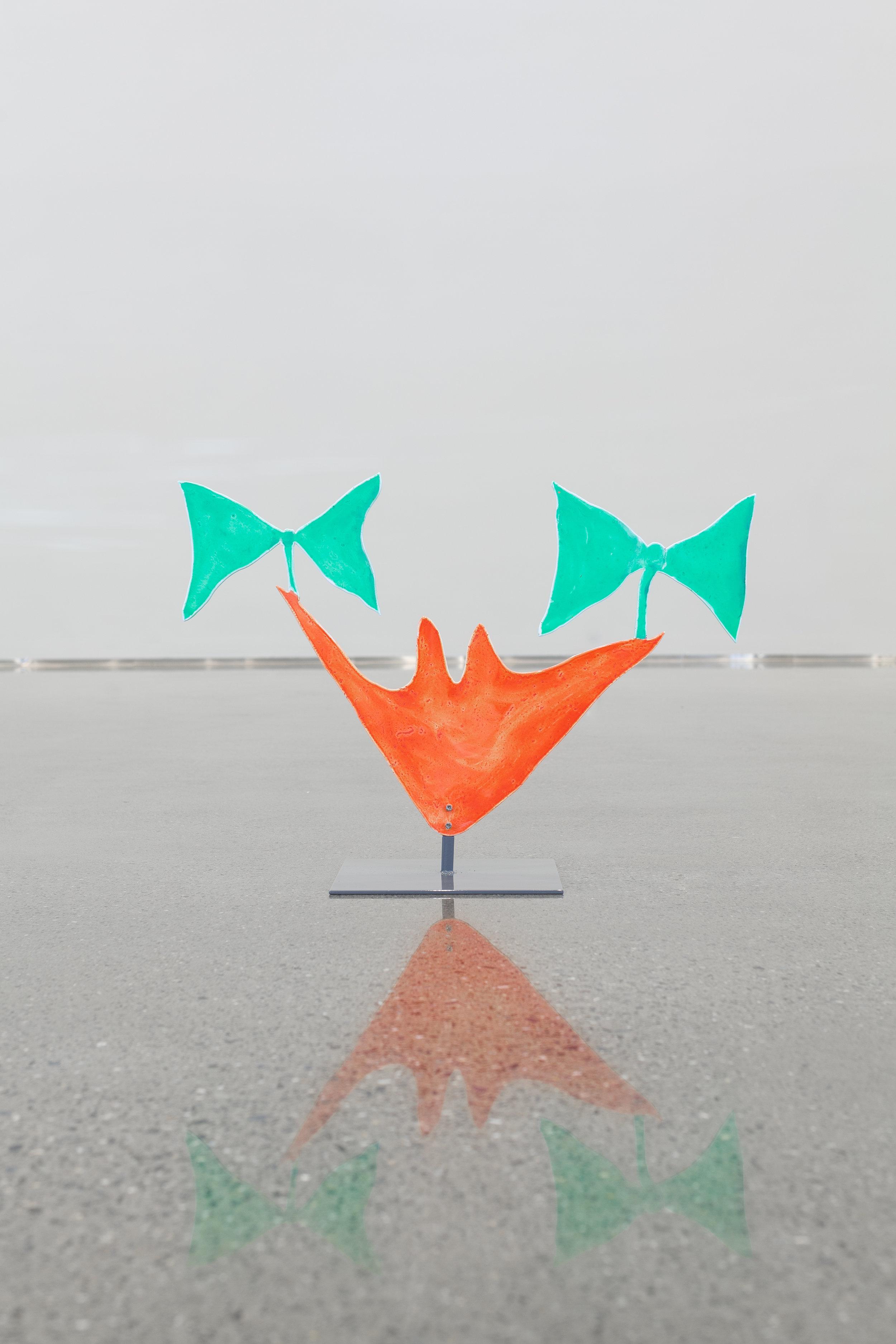 Anine Kierulf, 2019  Acrylic on aluminum