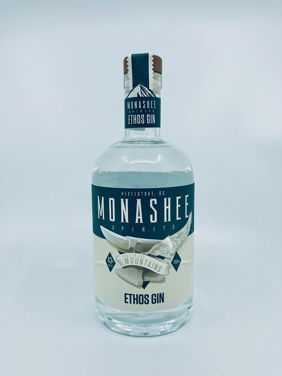 Monashee Spirits Ethos Gin – 2019 Canadian Artisan Spirit of the Year