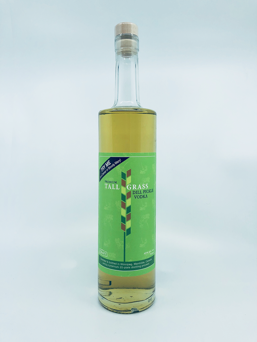 Capital K Distiller Tall Grass Dill Pickle Vodka – 2019 Best in Class, Infused Vodka