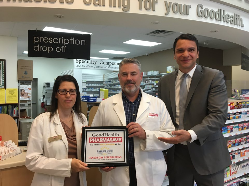 THANK YOU! Goodhealth Pharmasave - (Gold Sponsor) Shira and Rob Cameron