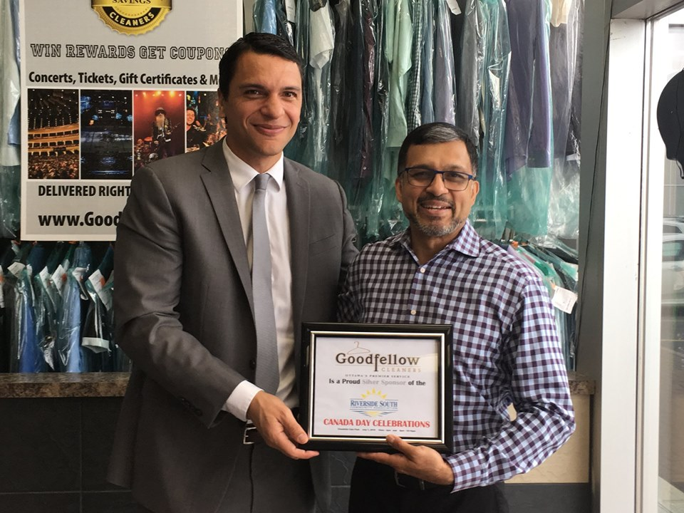 THANK YOU! Goodfellow Cleaners - (Silver Sponsor) Charles Ed Goodfellow