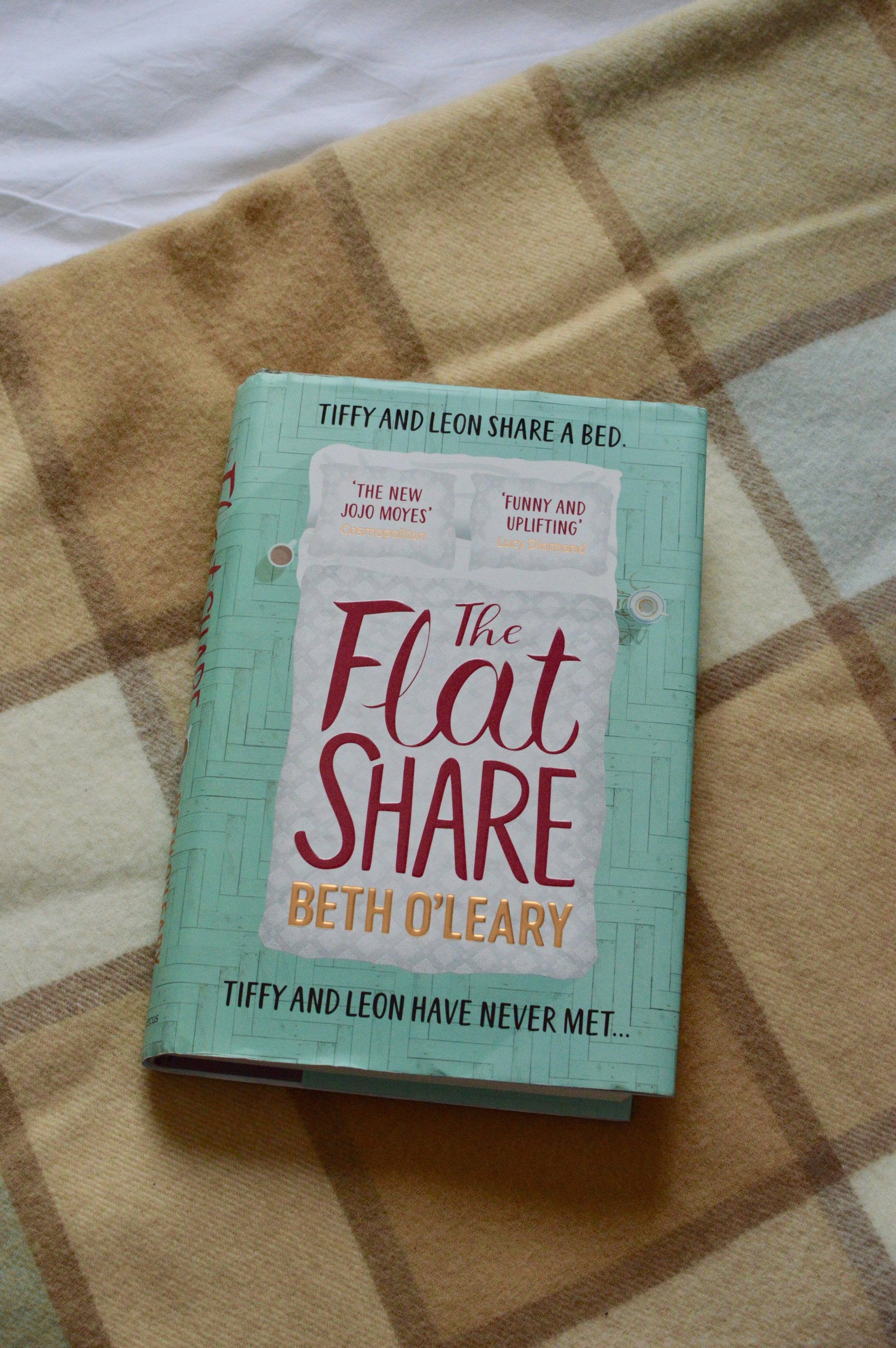 The Flatshare by Beth O'Leary - Blog Post Written by Jacqueline Ménoret
