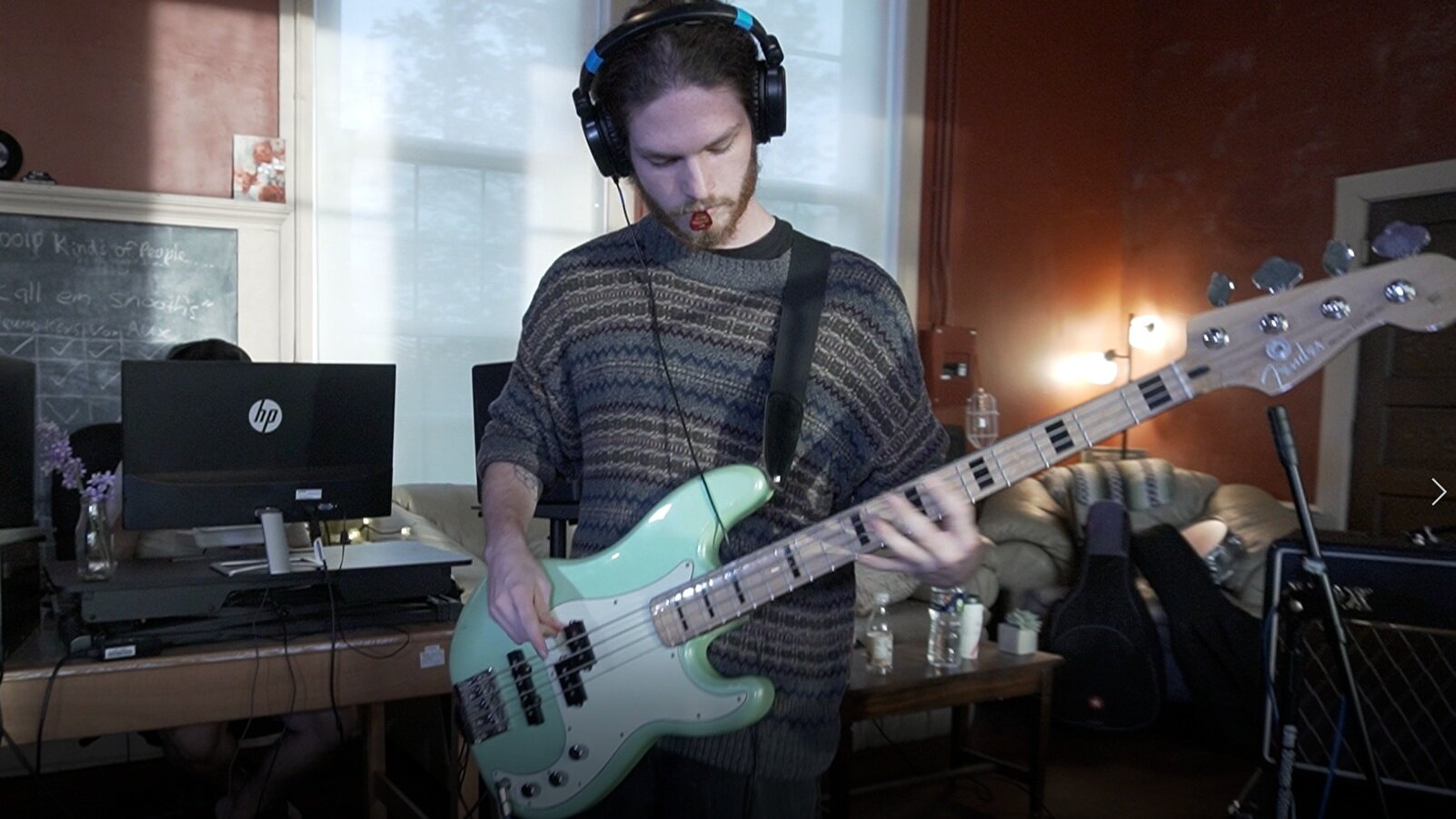 Eli on the Bass