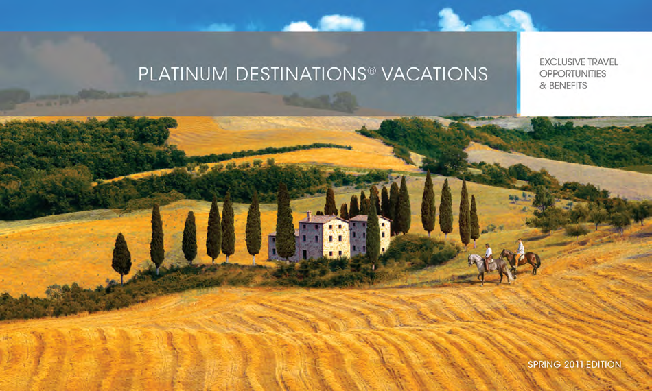 1400% - Developed educational material illustrating how a vacation package is defined and the full range of choices in this category.