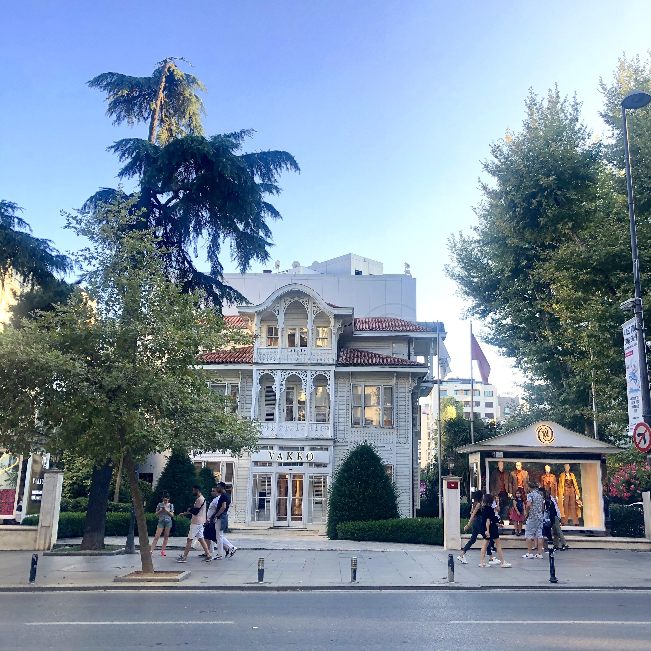 Subtlety is key for luxury. These brands are confident in themselves. No need to shout, but you can however occupy one of the few century-old wooden mansions left on Bagdat Caddesi in the Katiköy area of Istanbul.