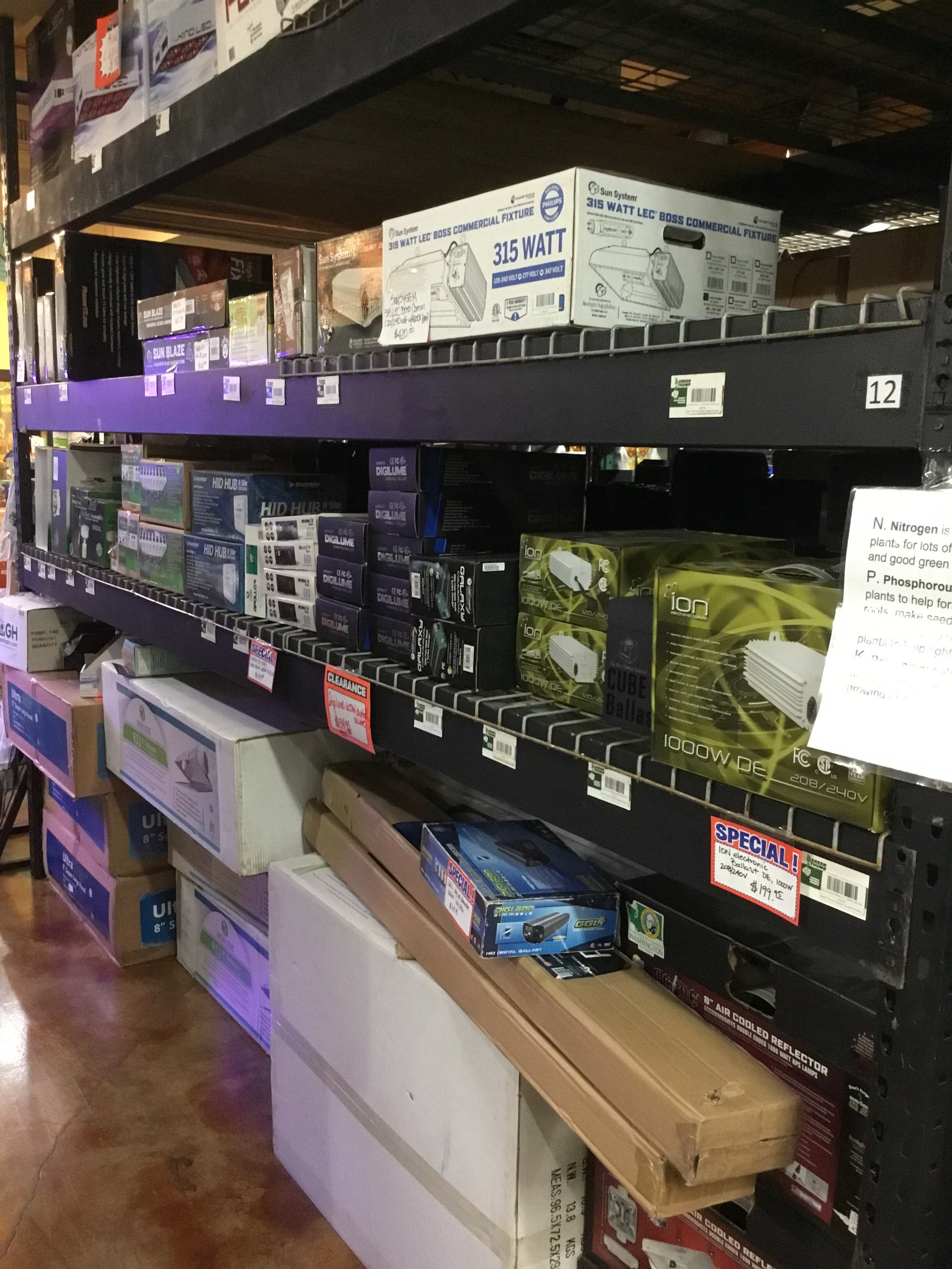 Garden supplies - Lights, dirt, pots, pumps, fertilizers and more. We have the supplies and the know how for any indoor or out door garden need.