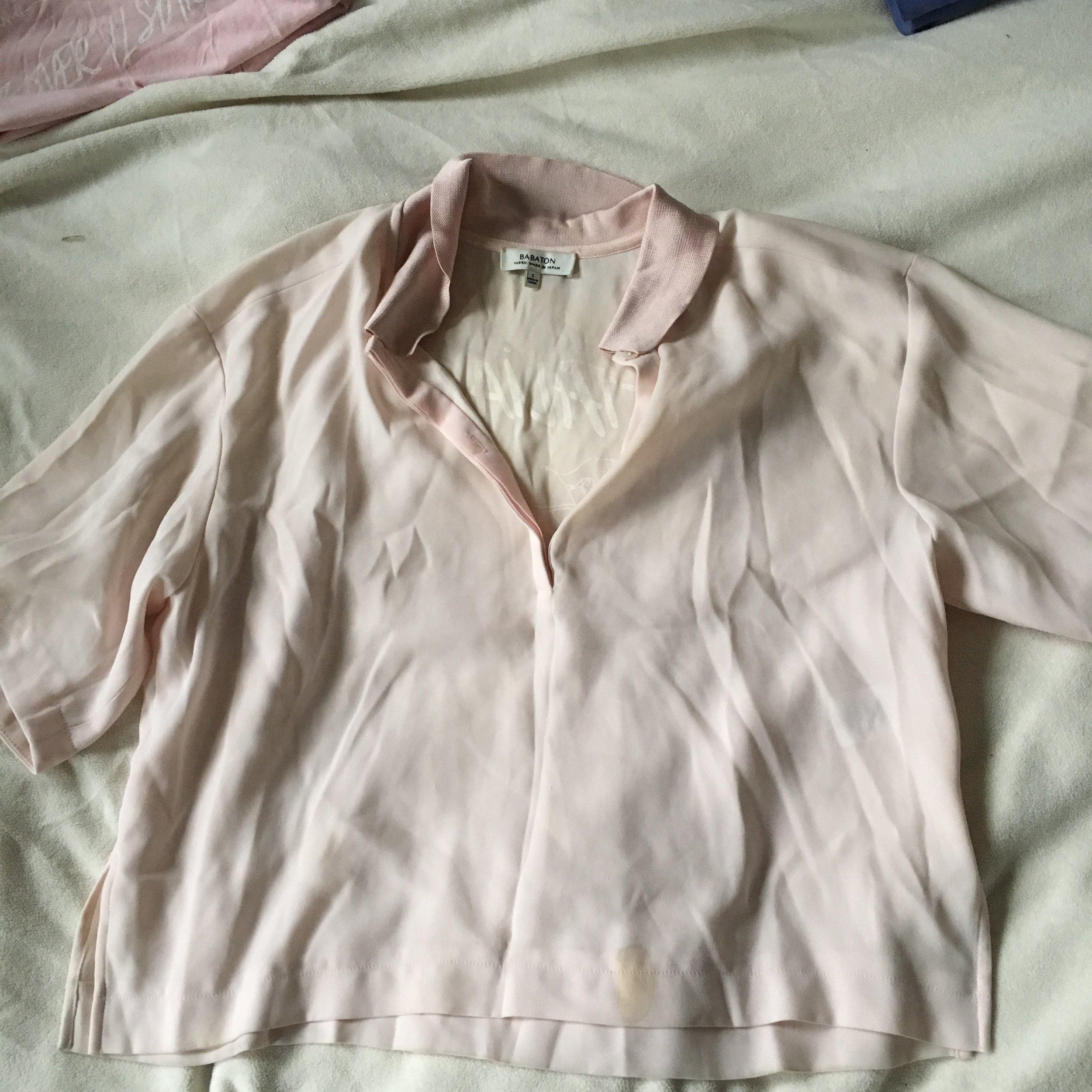 M Pink Collar