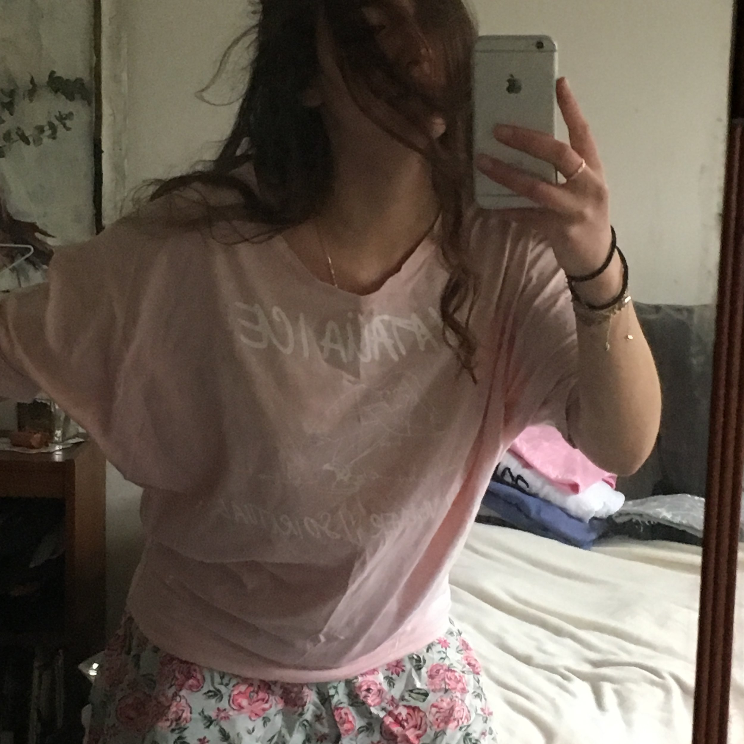 S Pink Slouchy