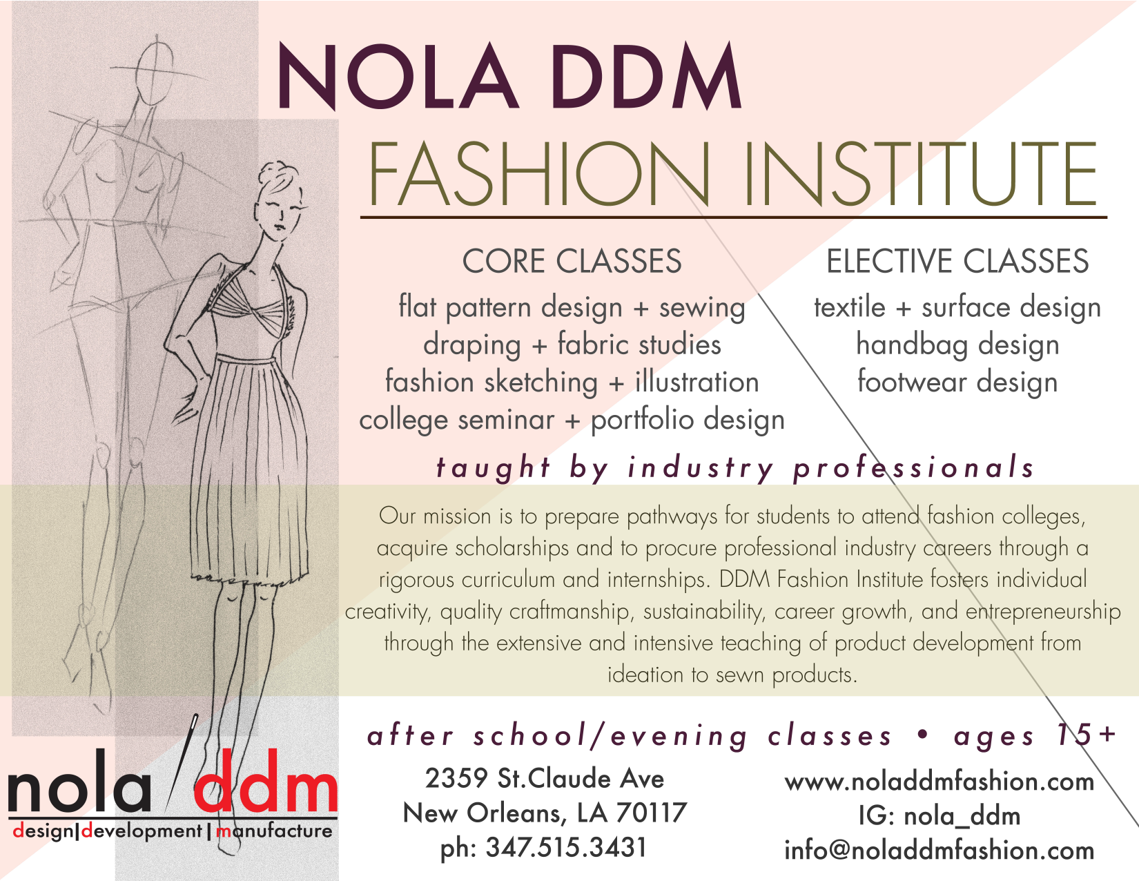 Classes Nola Ddm