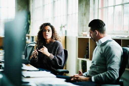 Executive coaching conversation