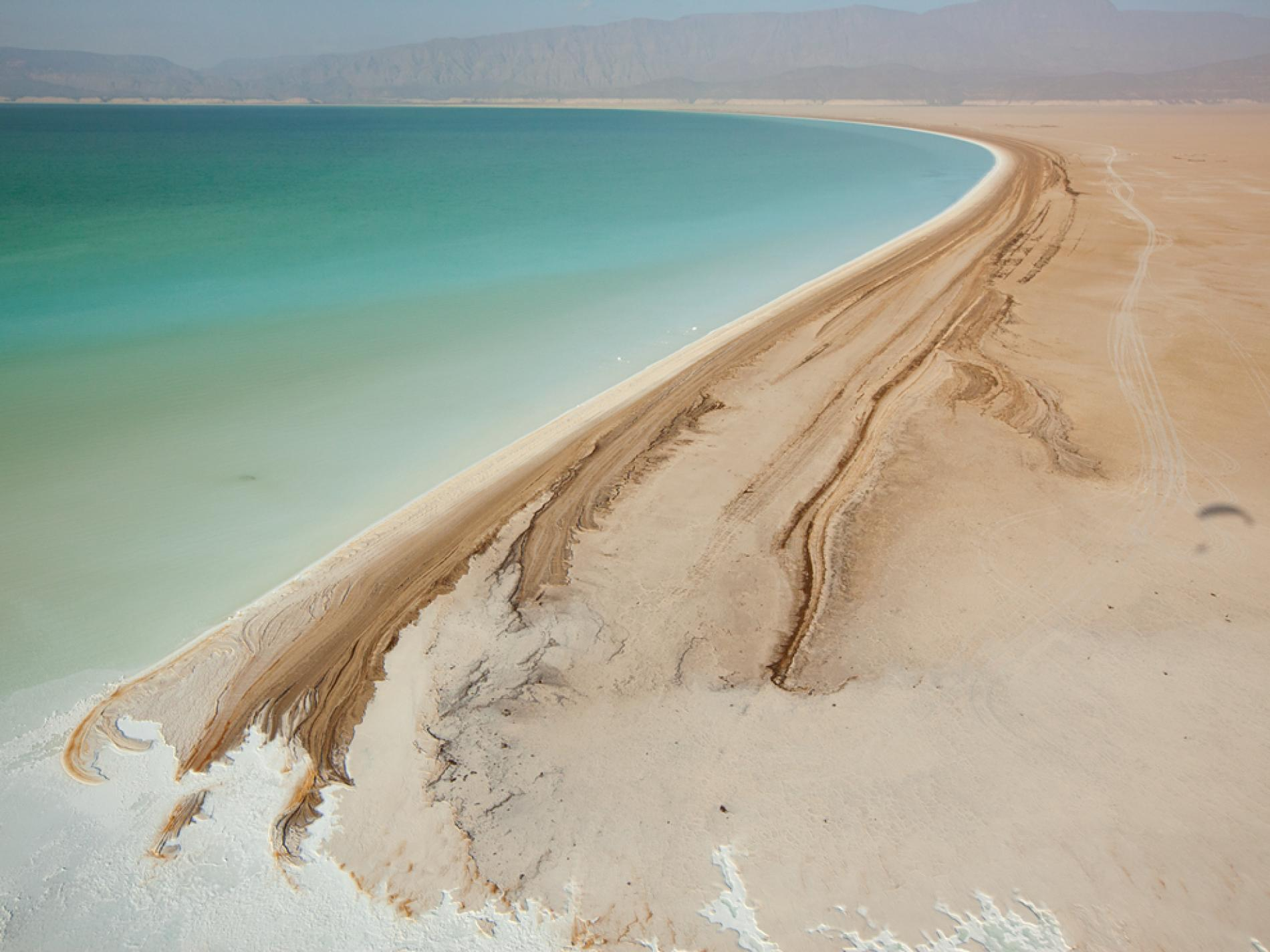 ARRICA'S LOWEST POINT - Lake Assal, Djibouti.
