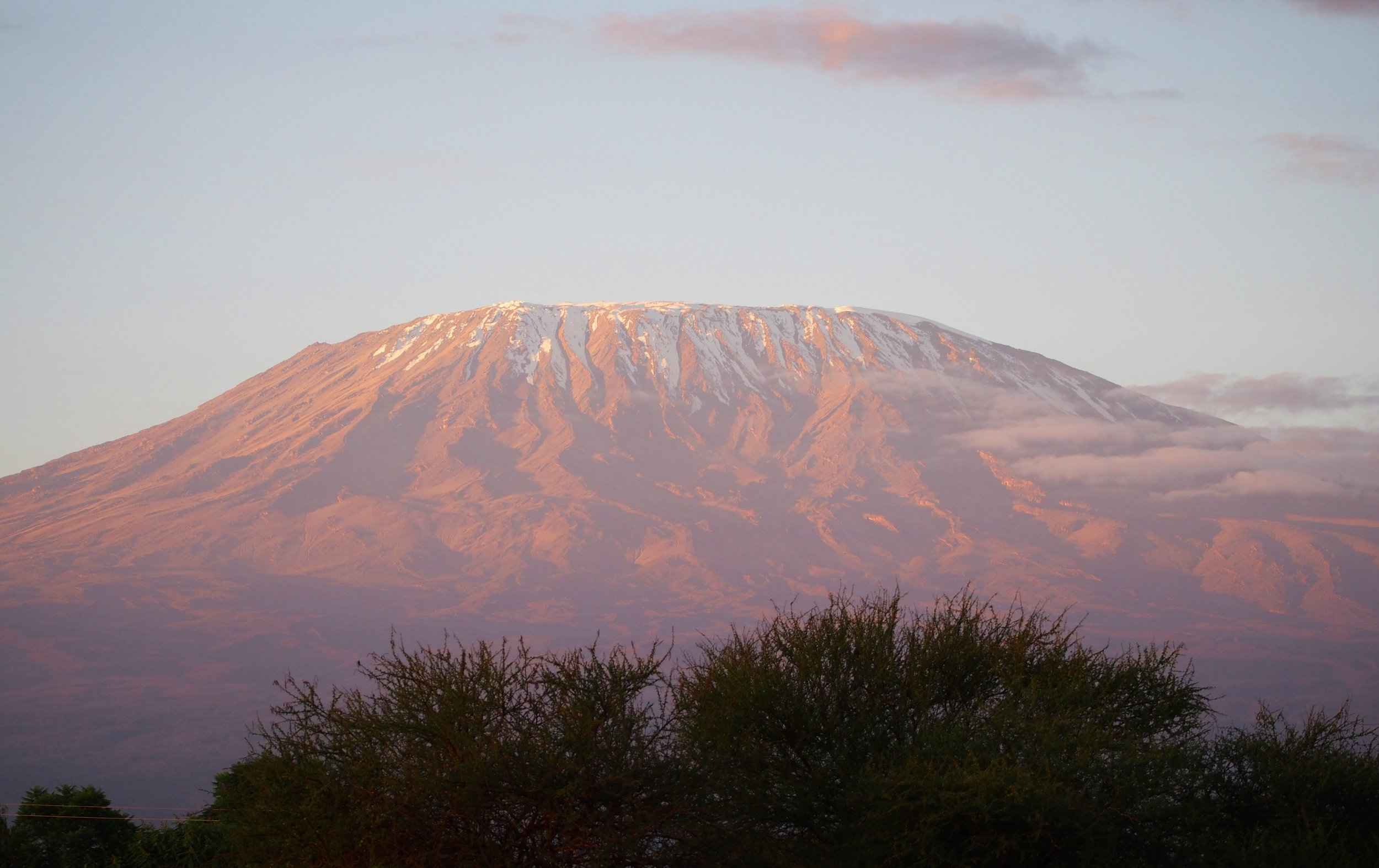 AFRICA'S HIGHEST PEAK: Mt. Kilimanjaro at Sunrise, Tanzania