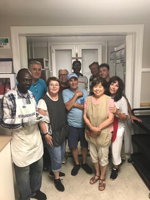 Thursday volunteer group