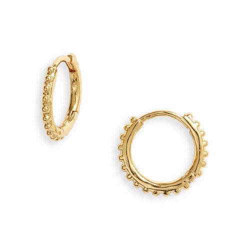 Bali Huggie Hoop Earrings